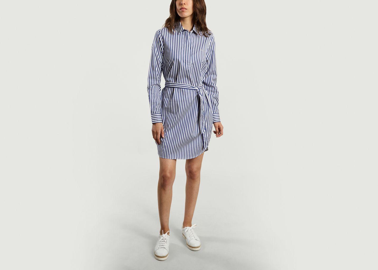 Robe Chemise Rayée Bonjour - Maison Labiche