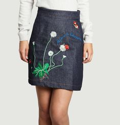 Botanical Mini Skirt
