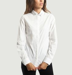 Oui Non Embroidered Shirt