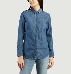 Oui Non Denim Shirt