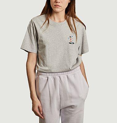 T-shirt Popincourt Pinup Disco