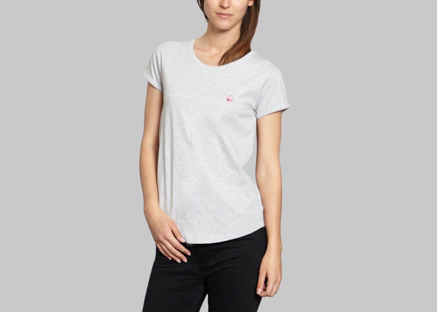 T-Shirt Médaillon Coeur - Maison Labiche