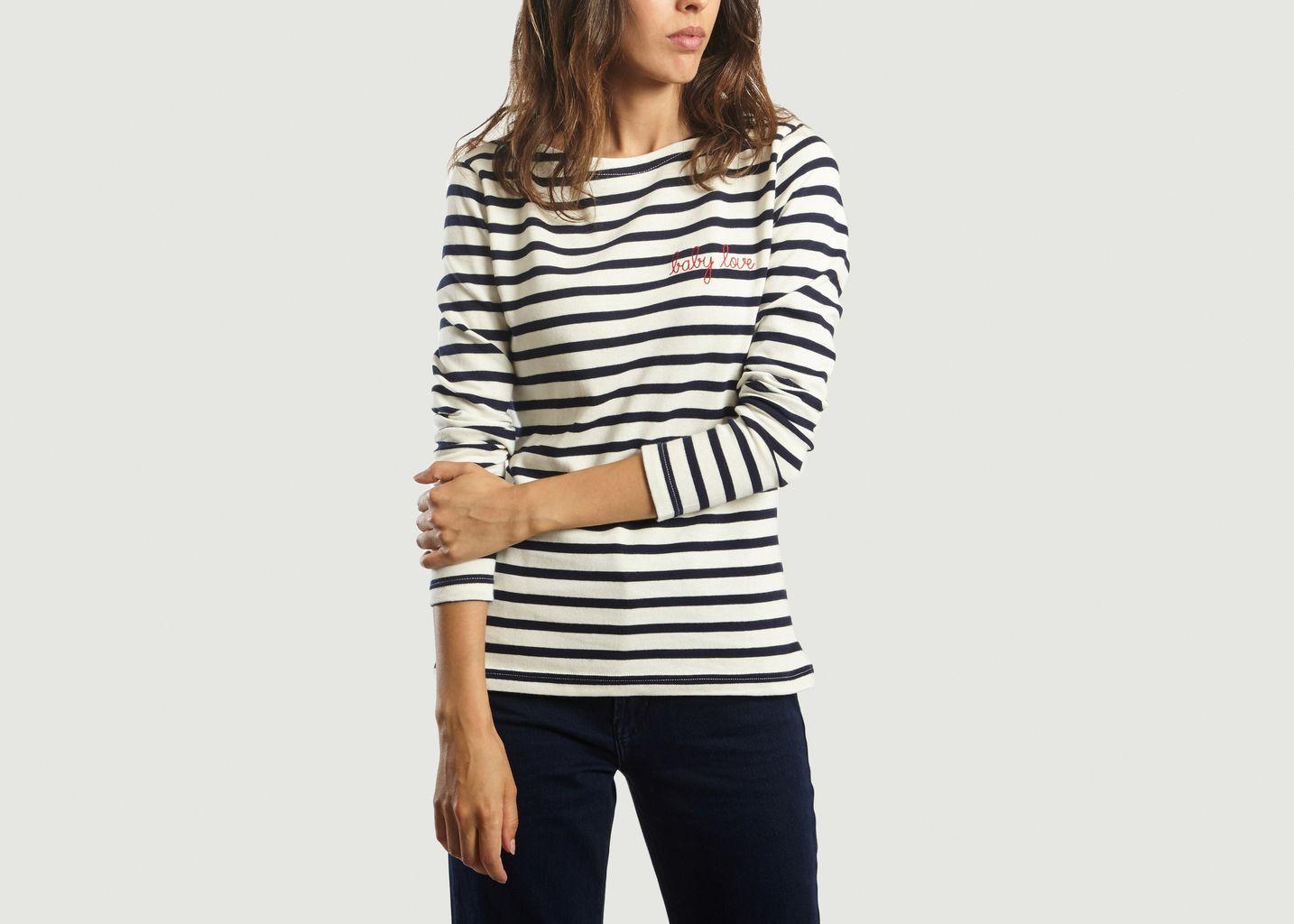 T-Shirt Marinière Baby Love - Maison Labiche