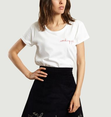 T-Shirt MC Working Girl