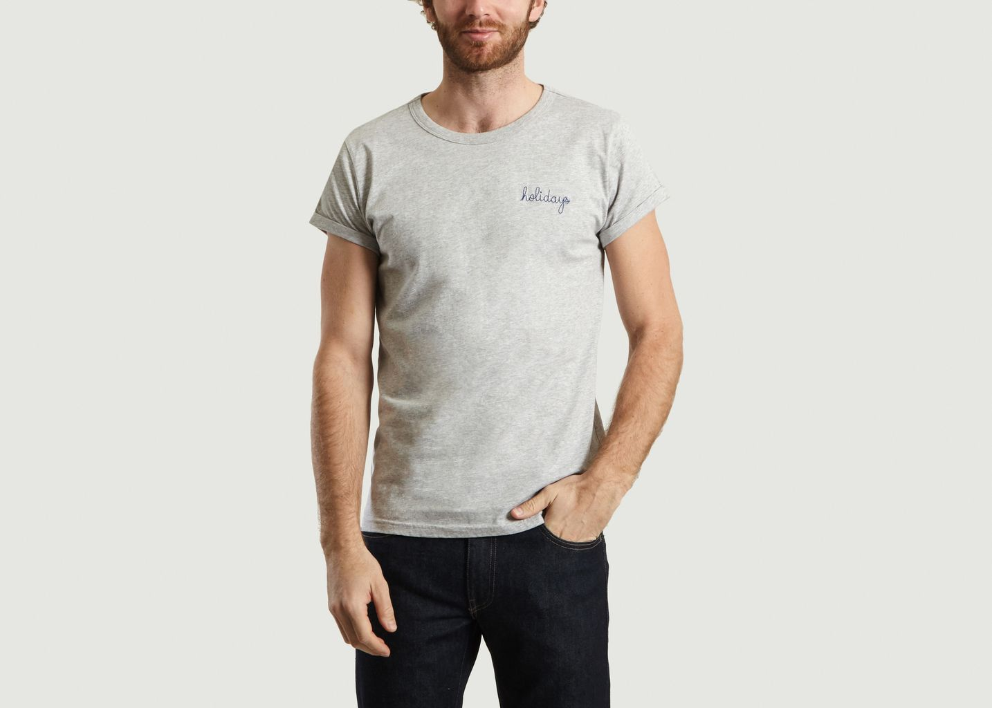 T-Shirt Brodé Holidays - Maison Labiche