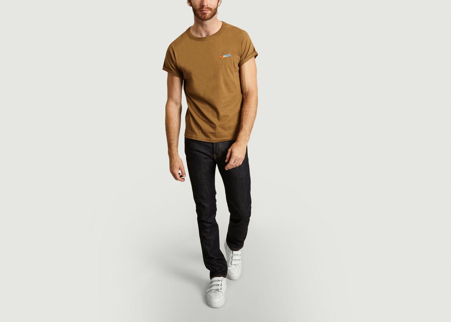 T-shirt Brodé Voiture - Maison Labiche