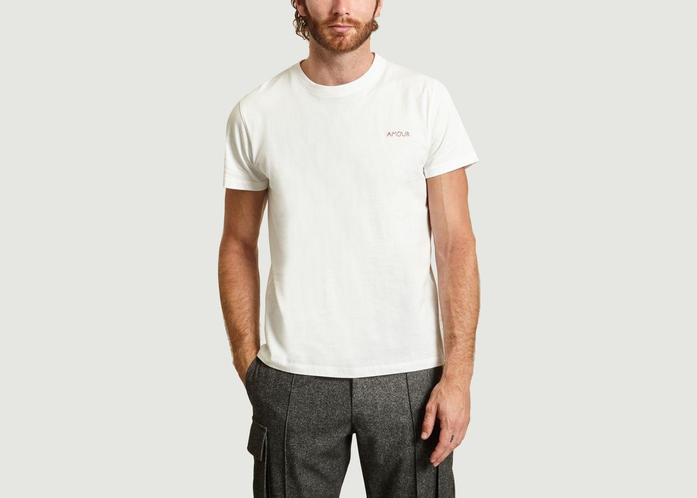 Heavy T-shirt Amour - Maison Labiche