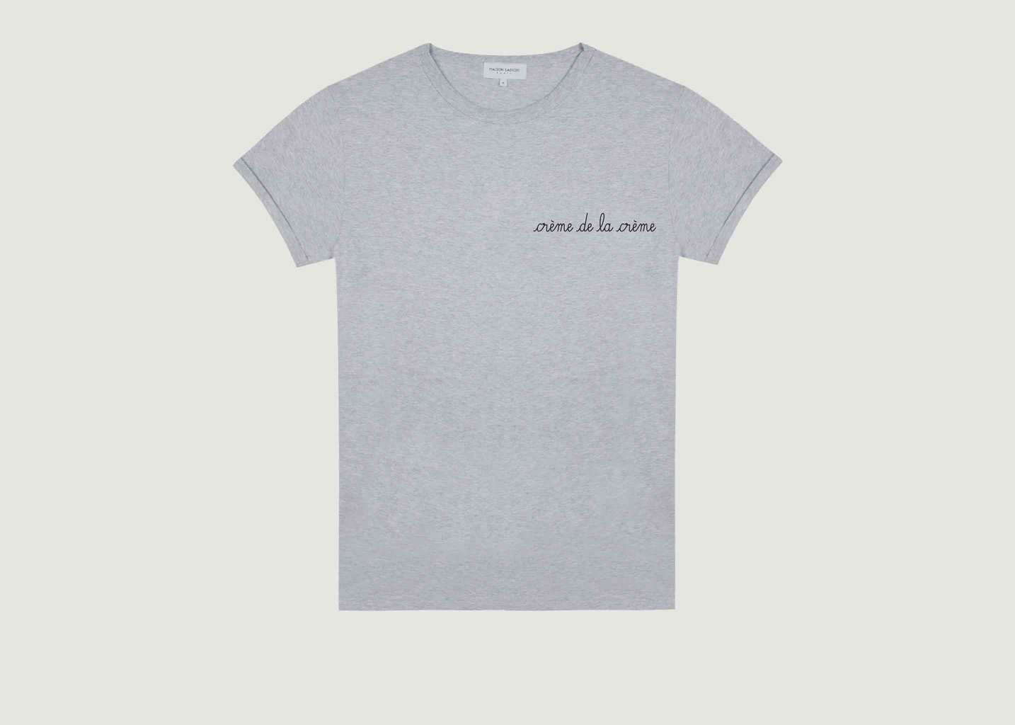 T-shirt Crème de la Crème - Maison Labiche