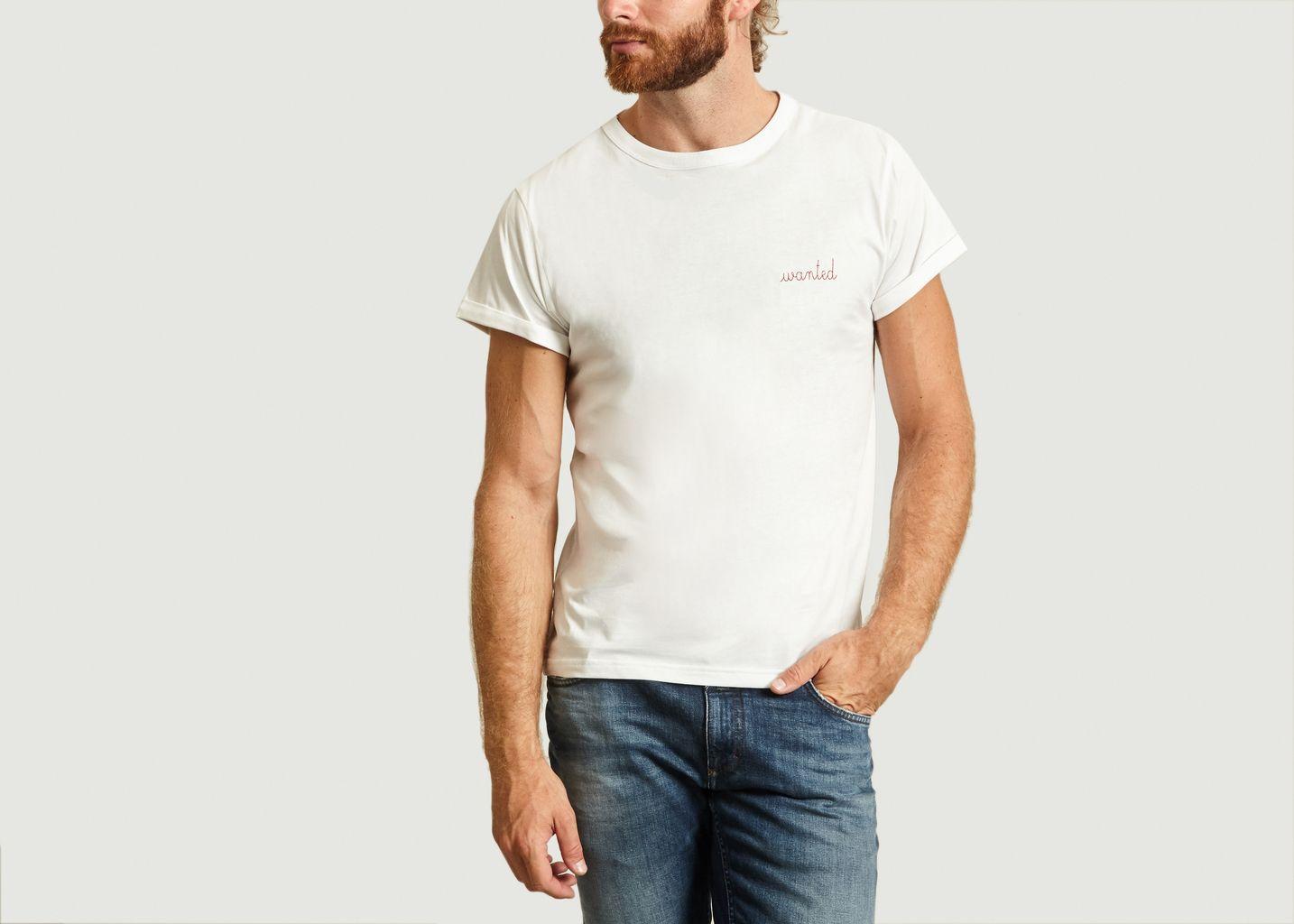 Tshirt Brodé Wanted - Maison Labiche