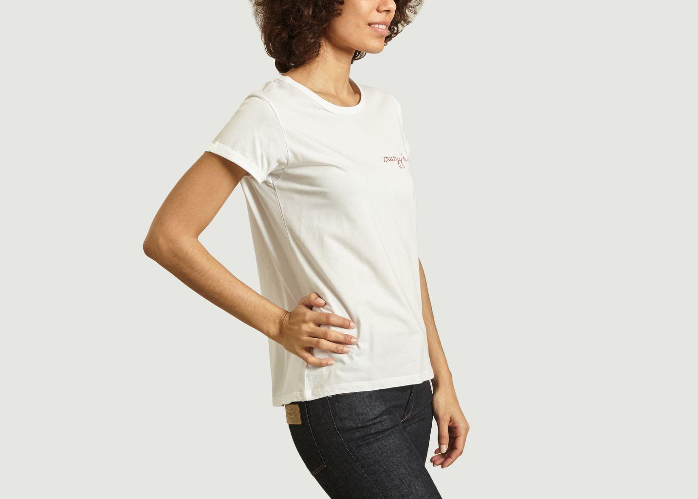 T-Shirt Brodé Crazy In Love - Maison Labiche