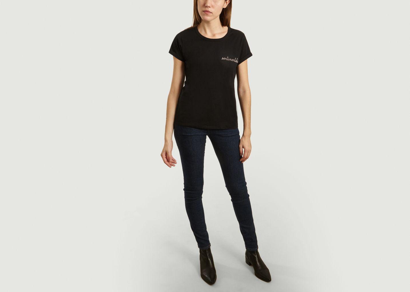 T-Shirt Brodé Sentimentale - Maison Labiche