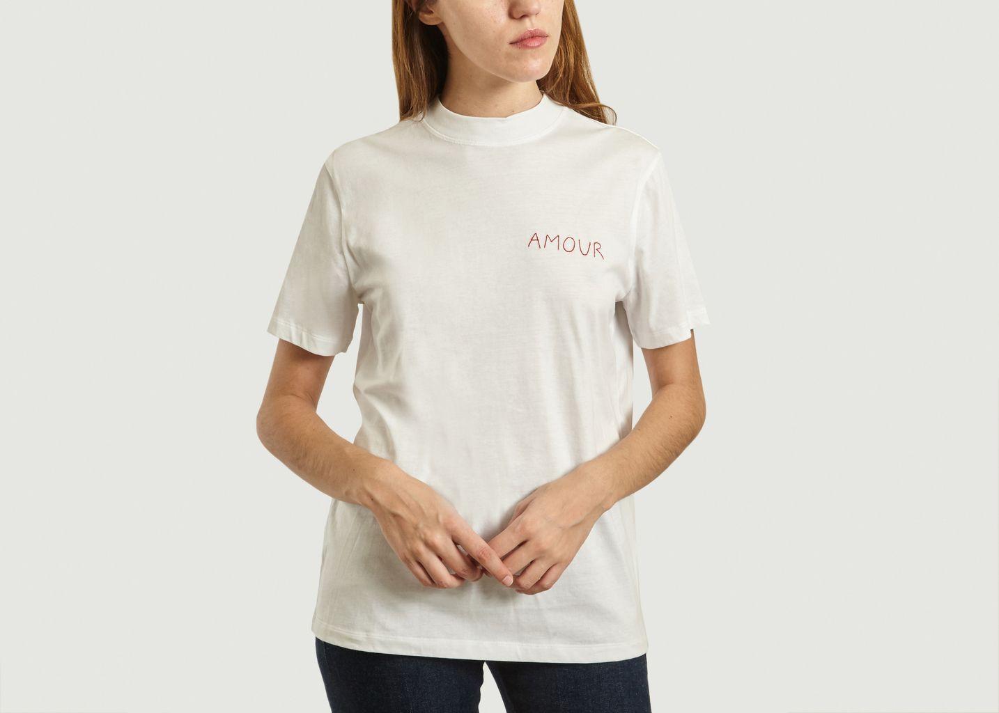 T-Shirt Brodé Amour - Maison Labiche