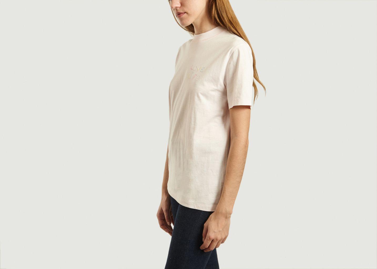T-Shirt Brodé Love Life - Maison Labiche