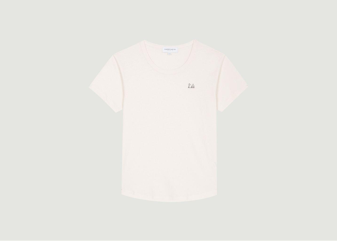 T-Shirt Brodé L'Eté - Maison Labiche