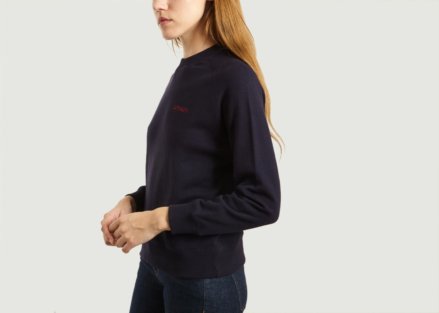 Sweat Brodé Amour - Maison Labiche