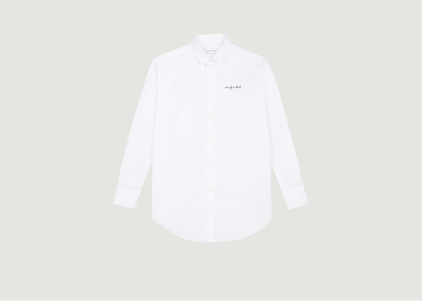 Chemise Boyfriend Brodée One Of A Kind - Maison Labiche