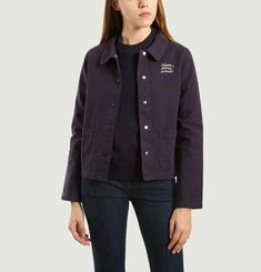 Worker Embroidered Jacket