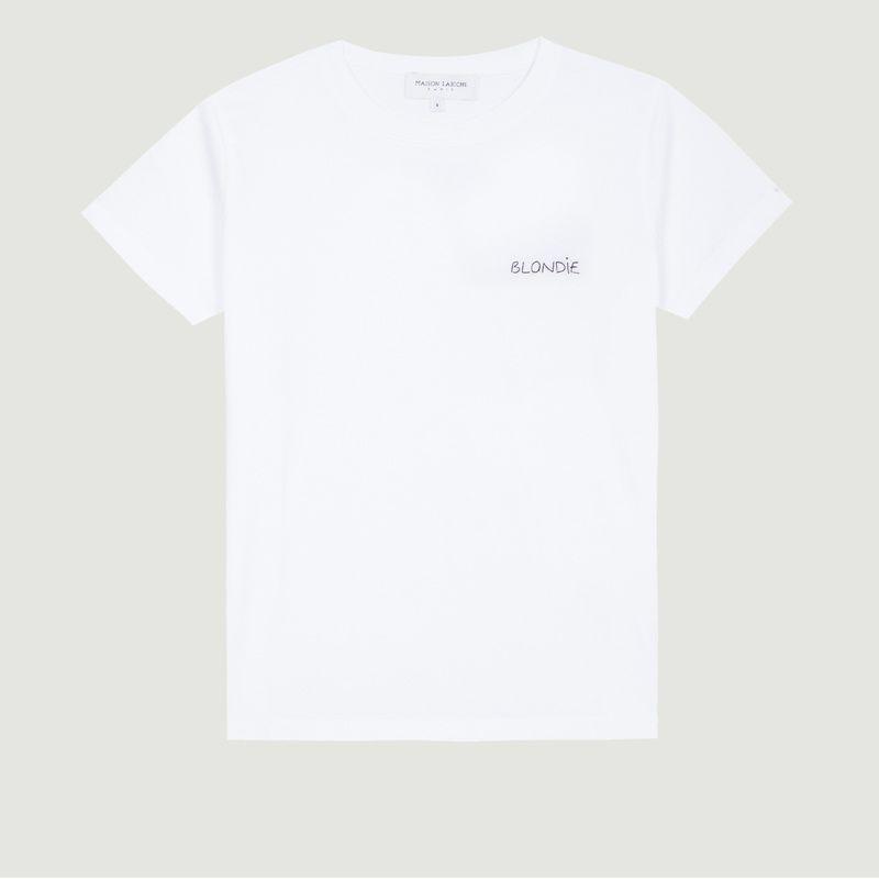 T-Shirt Brodé Boyfriend Blondie - Maison Labiche