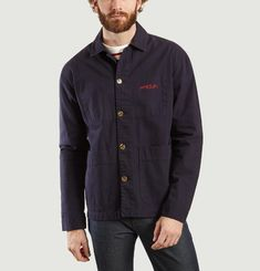 Amour Embroidered Worker Jacket