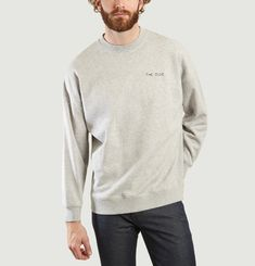 The Dude Embroidered Sweatshirt