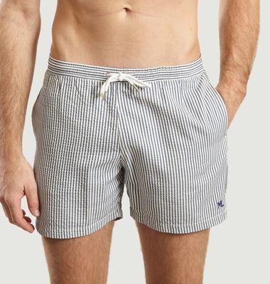 ML Swim Shorts With Seersucker Stripes