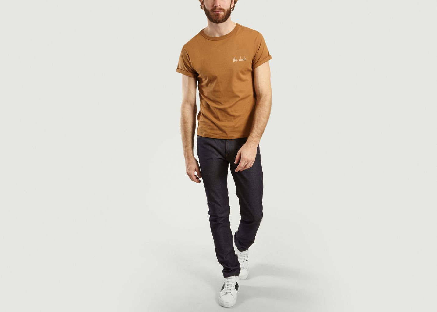 T-Shirt Brodé The Dude - Maison Labiche