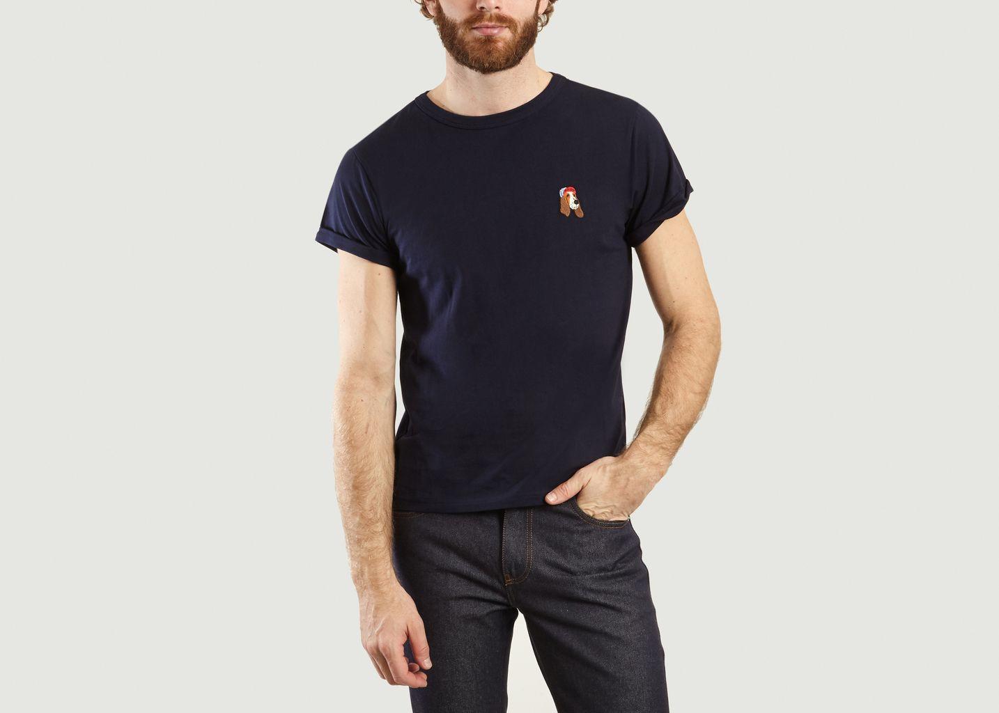 T-Shirt Avec Patch Old Dog - Maison Labiche