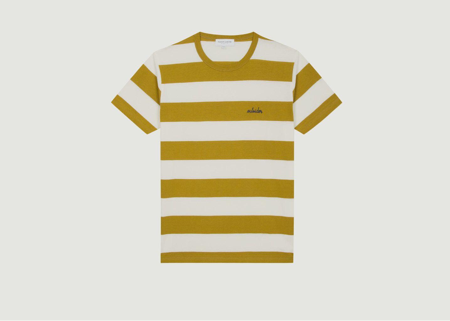 T-Shirt Rayé Outsider - Maison Labiche