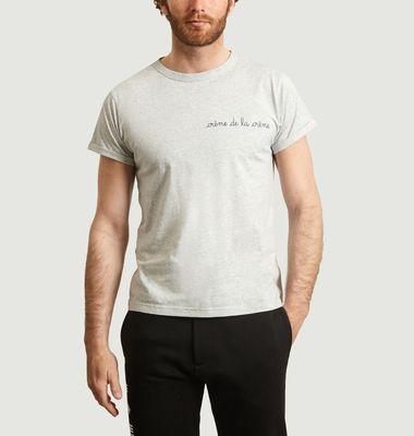 Crème De La Crème Embroidered T-Shirt