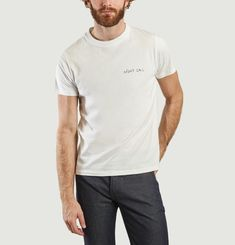 Night Call Embroidered T-Shirt