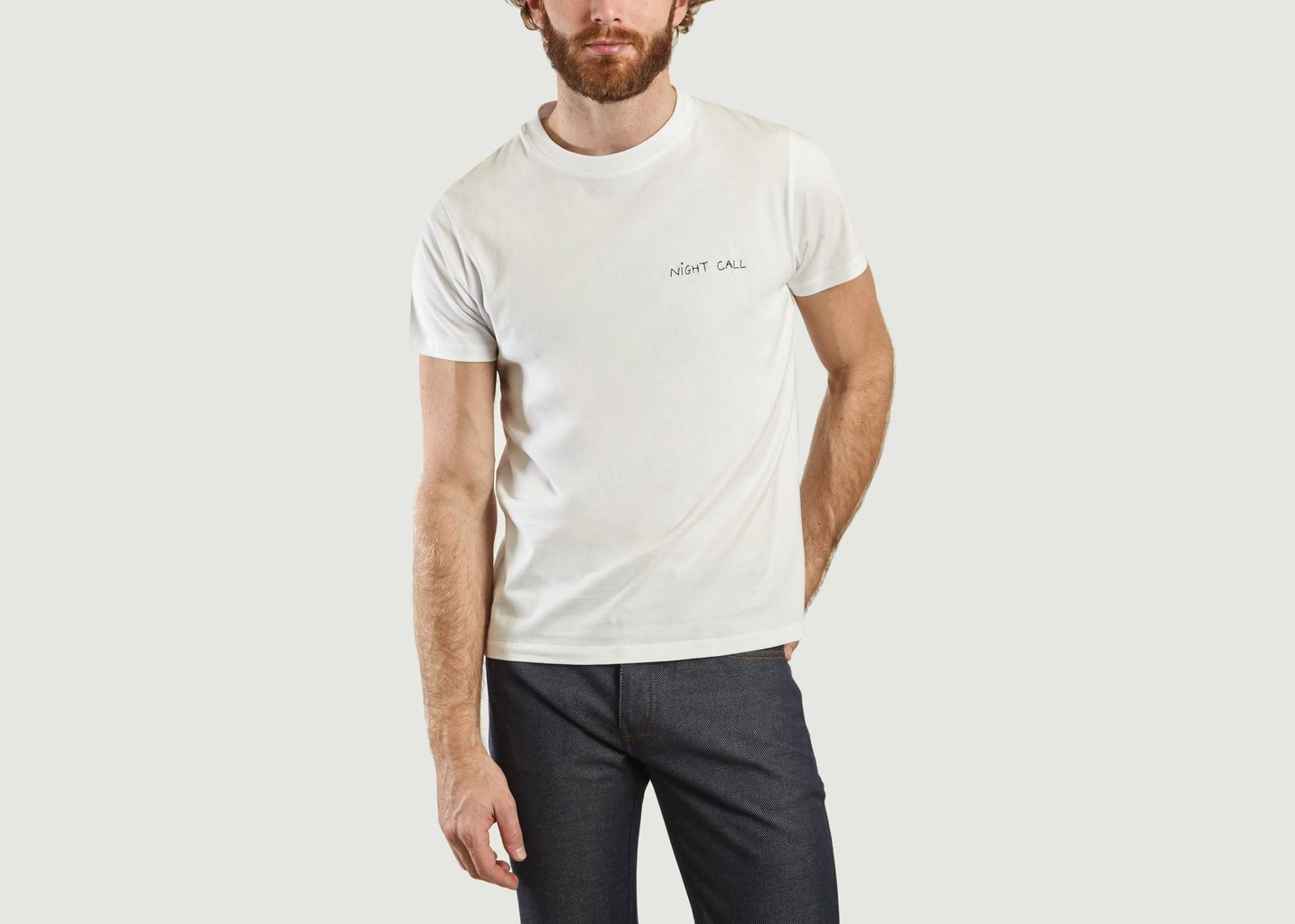 T-Shirt Brodé Night Call - Maison Labiche