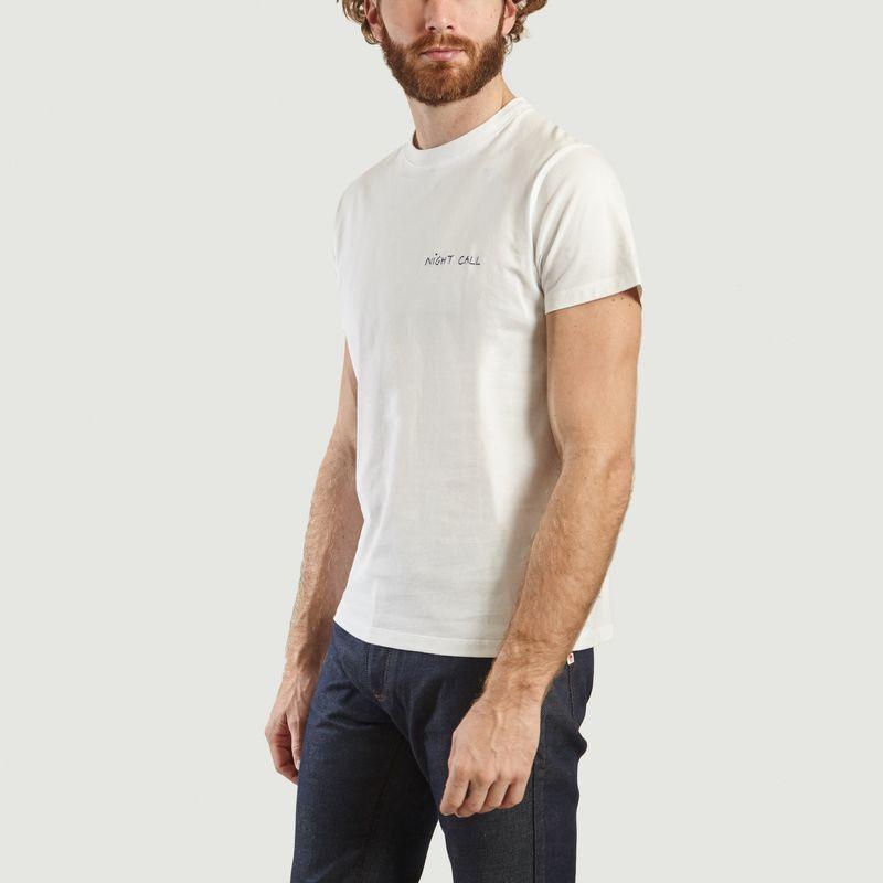 T-Shirt Brodé Night Call - Maison Labiche