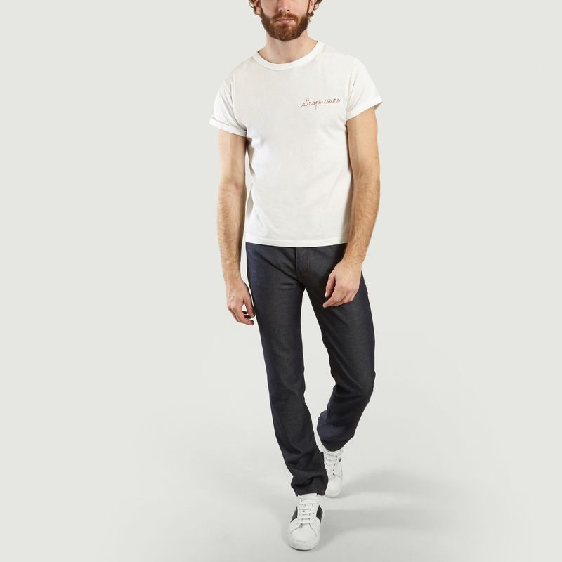 T-Shirt Brodé Attrape-Cœurs - Maison Labiche