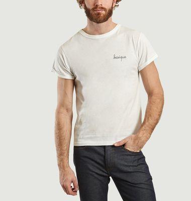 T-Shirt Brodé Basique