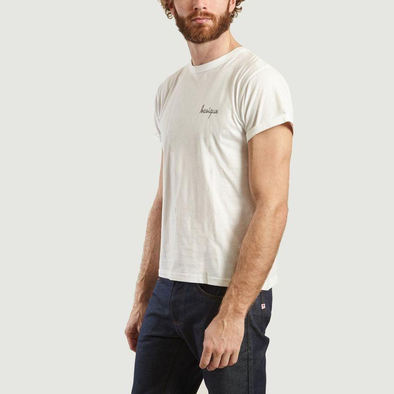 T-Shirt Brodé Basique - Maison Labiche
