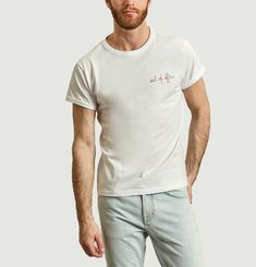 Out Of Office Embroidered T-Shirt