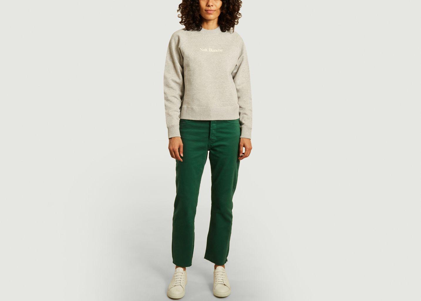 Sweatshirt Classic imprimé nuit blanche - Maison Labiche