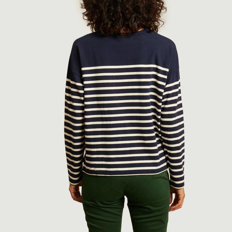 T-shirt marinière manches longues Cool oh là là - Maison Labiche