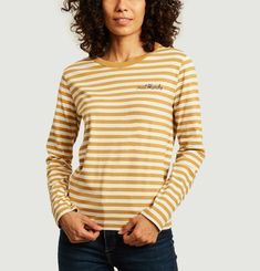 Ls striped t-shirt Maison Labiche