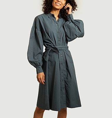 Gipsy Gentlewoman embroidered shirt-dress