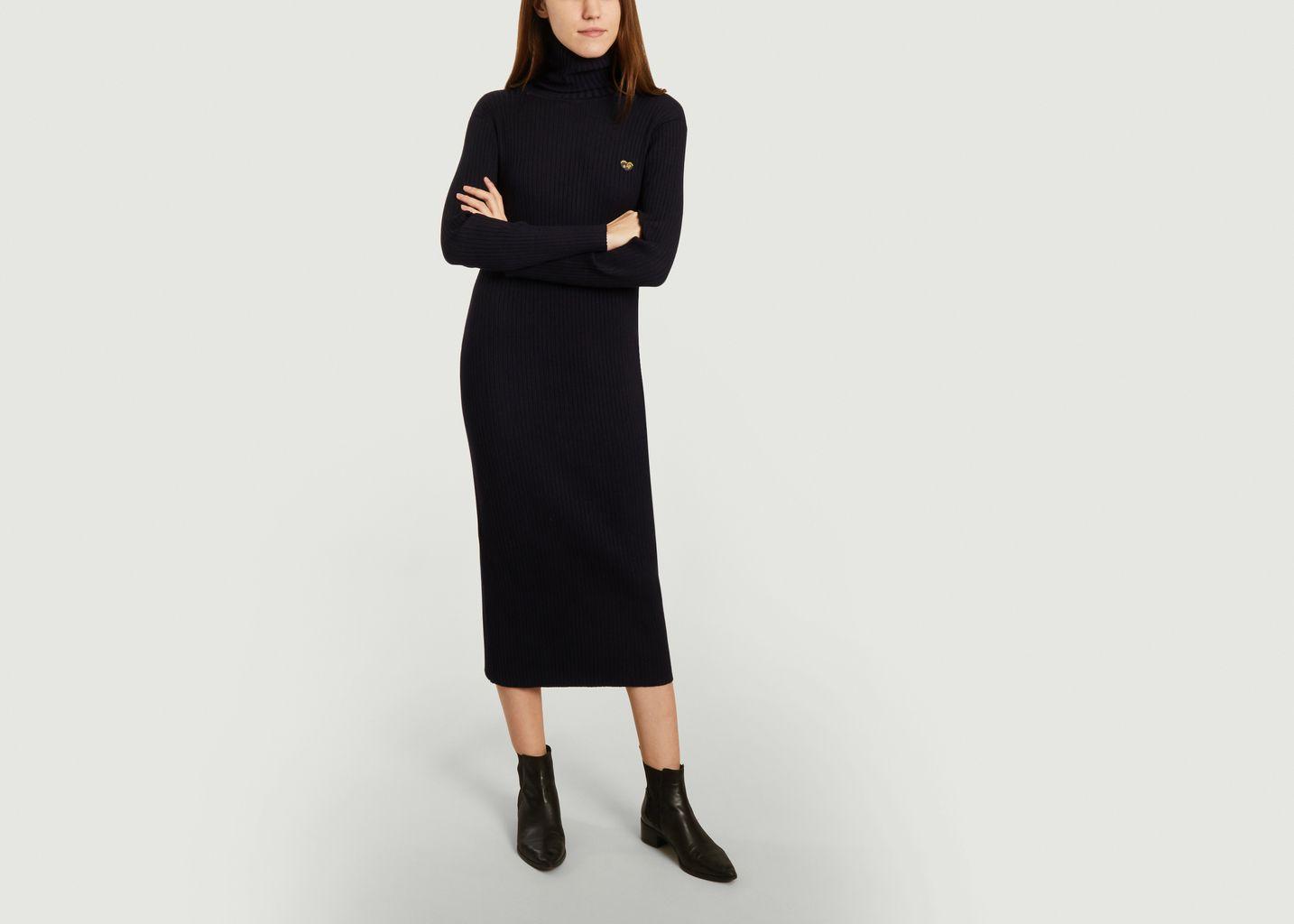 Robe-chaussette avec patch coeur - Maison Labiche