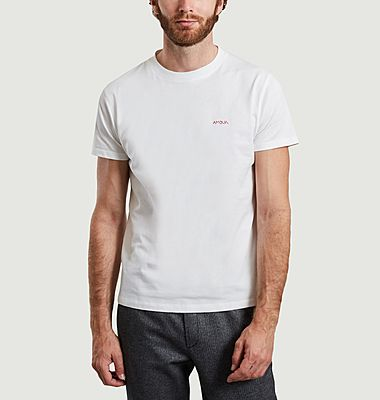 Amour organic cotton embroiderd t-shirt