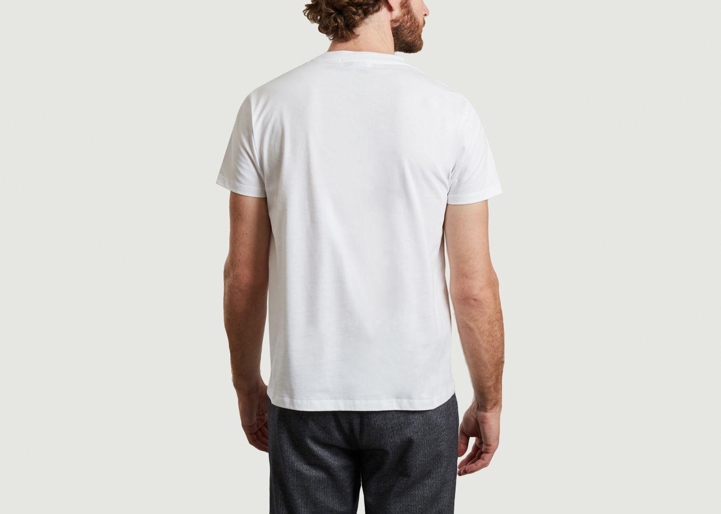 T-shirt en coton bio brodé Amour - Maison Labiche