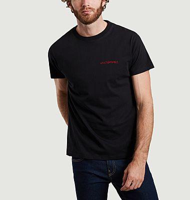 T-shirt brodé en coton bio Unstoppable