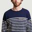 matière T-shirt manches longues rayé brodé Cool Sailor - Maison Labiche