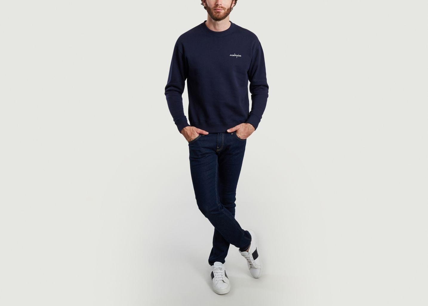 Sweatshirt brodé Masterpiece - Maison Labiche