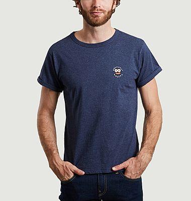 T-shirt brodé en coton bio Breakfast Maniac
