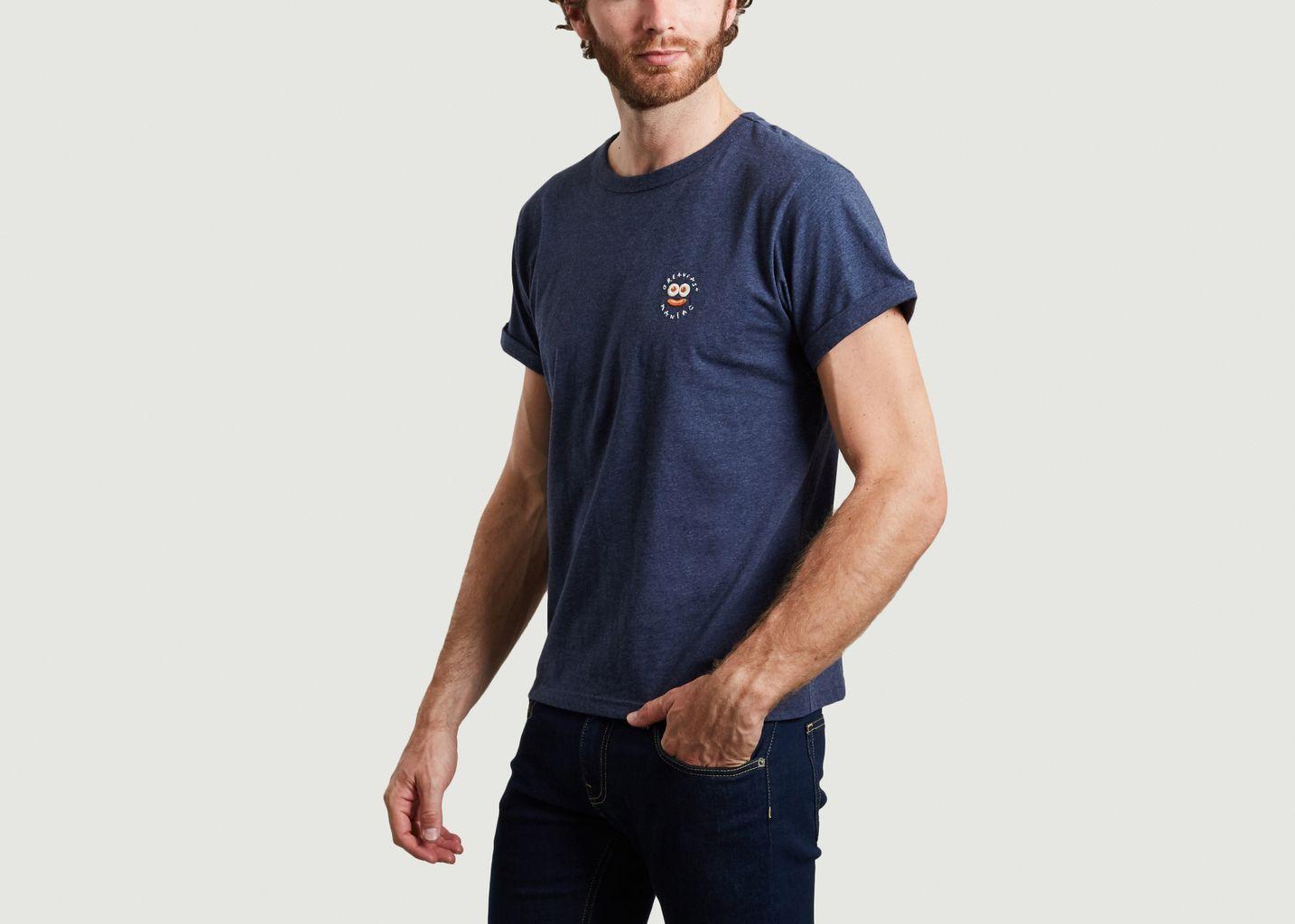 T-shirt brodé en coton bio Breakfast Maniac - Maison Labiche