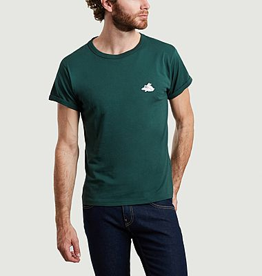 Bunnies organic cotton embroidered t-shirt