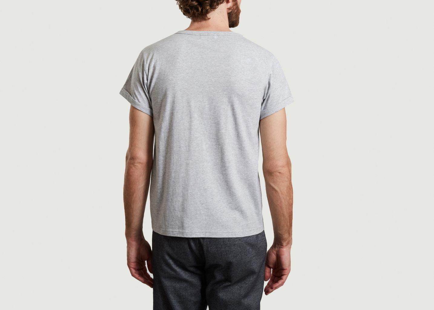 T-shirt en coton bio brodé Killing It - Maison Labiche